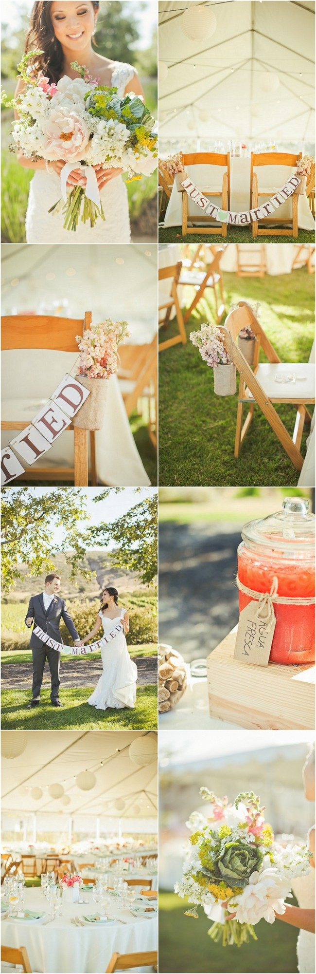 Rustic Southern California Vineyard Wedding