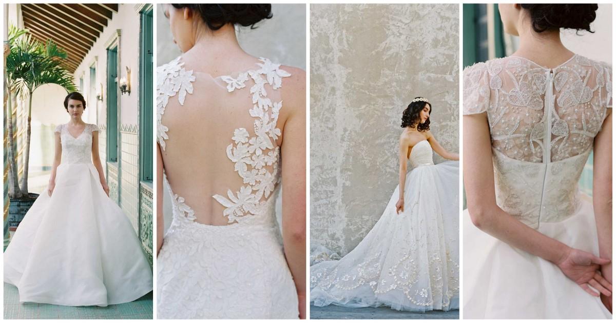 Wow! We adore Sareh Nouri 2017 Wedding Dress Collection!
