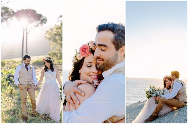 Dreamy Signal Hill + Llandudno Beach Couple Photo Inspiration {Daniel & Hanna Photography}