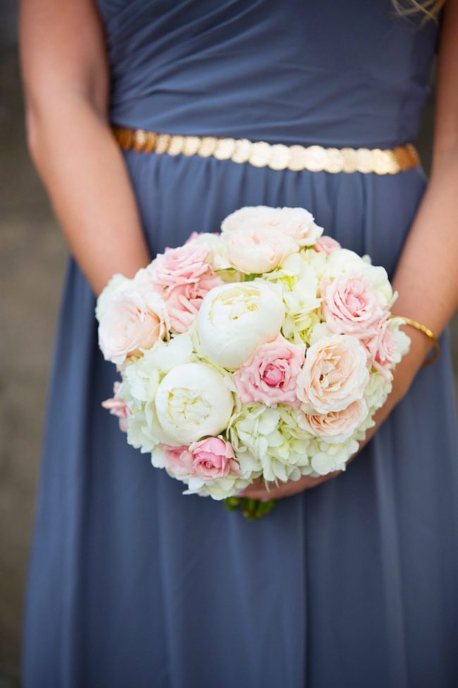 This Soft Blush North Carolina Wedding is filled with classic romance - and peonies! Magnolia Photography