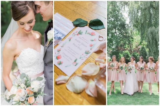 Oh-so-dreamy Summer Garden Wedding {Brittany Lee Photography}