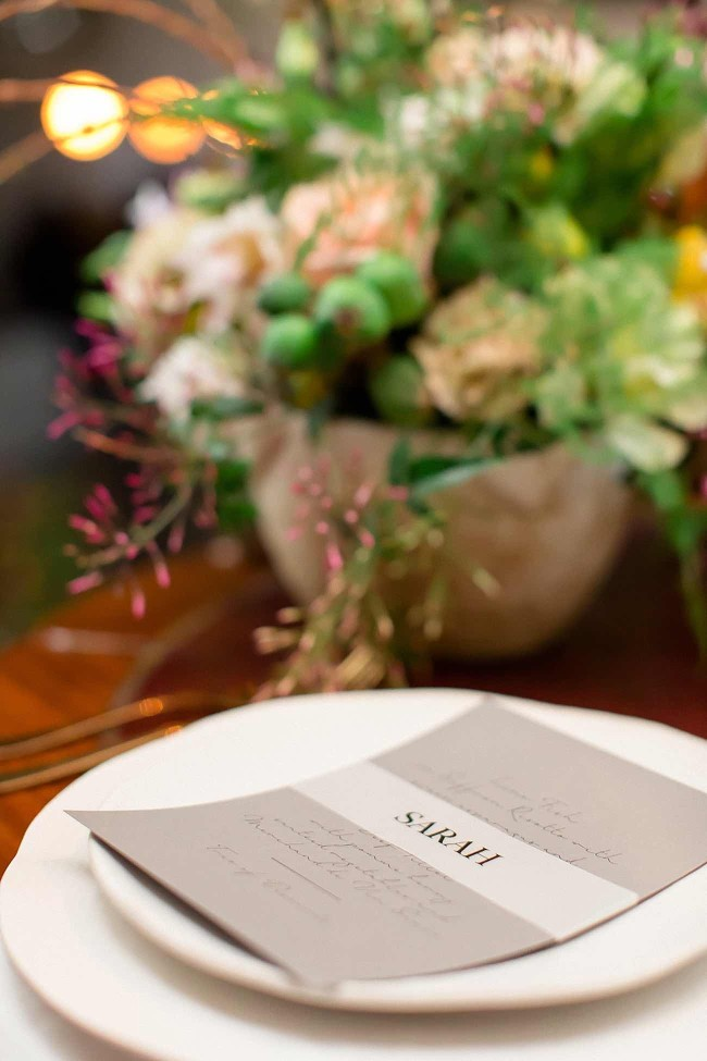 Tan Copper and Marble Wedding - Wesley Vorster