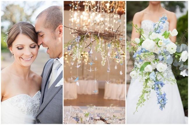 Thousand Crane Winter Wedding {Alexandra Graham Photography}
