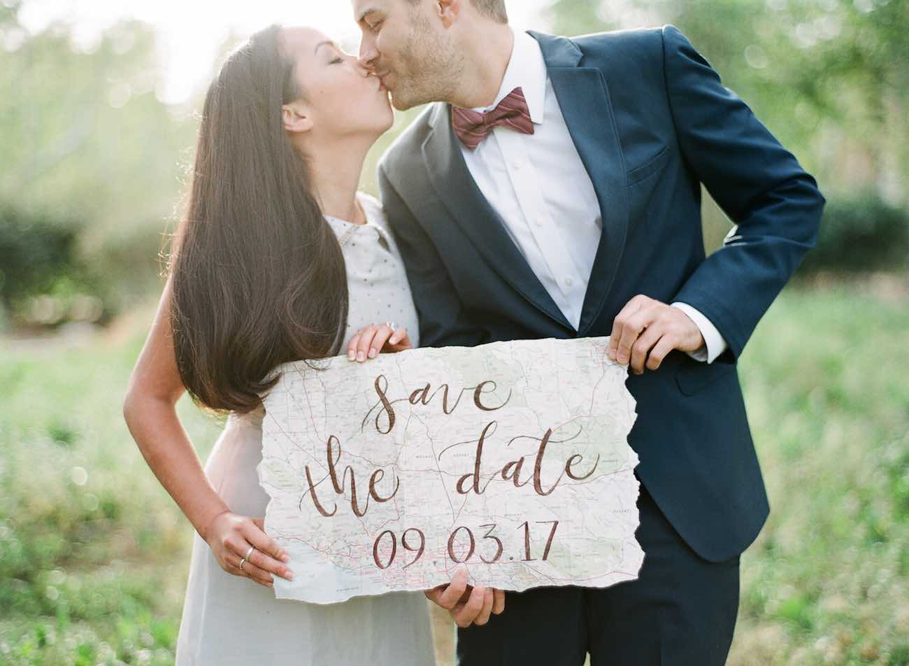 The Cutest Travel Themed Engagement Ideas {Bowtie And