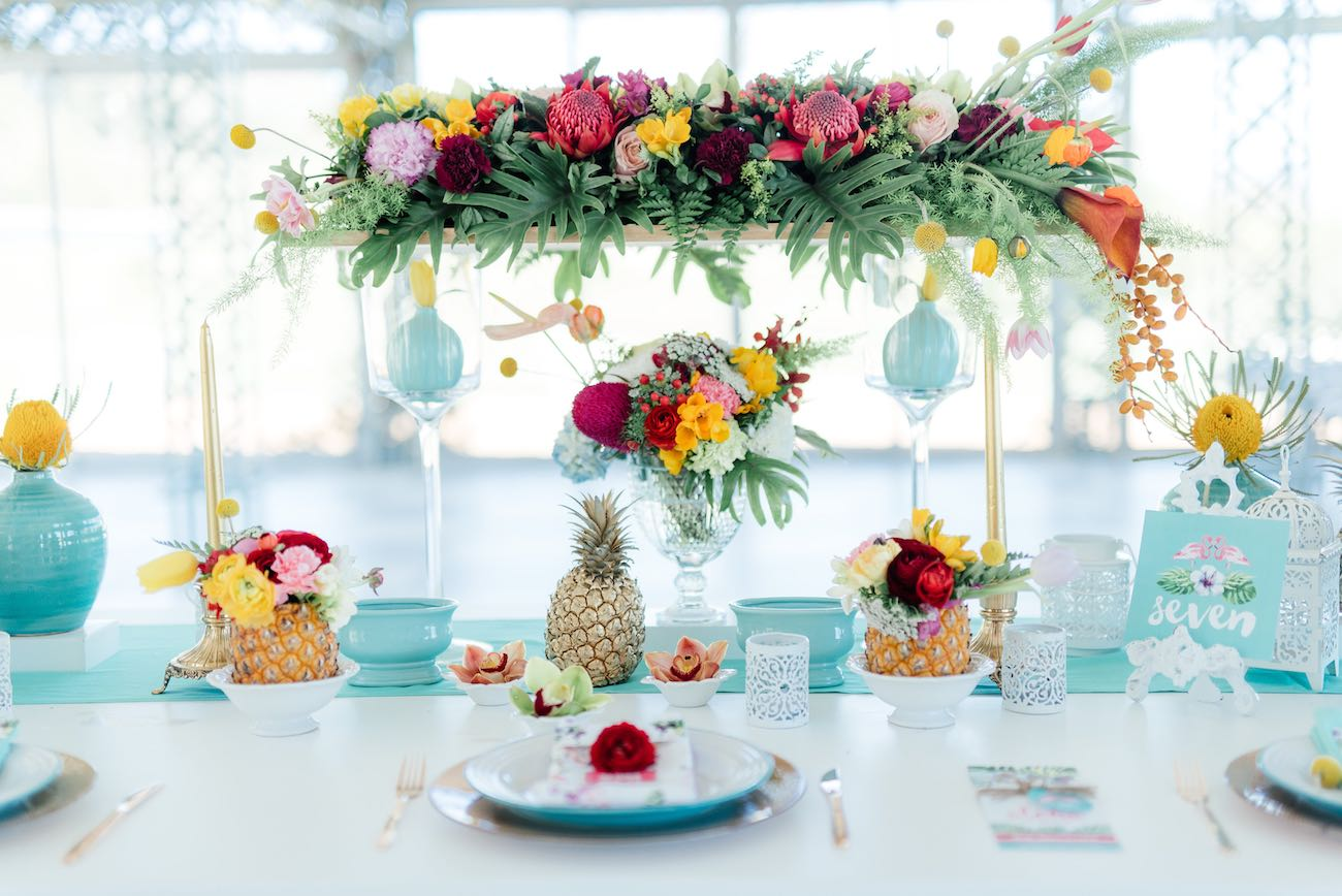 Gorgeously Whimsical Tropical Wedding Ideas {Debbie Lourens Photography}