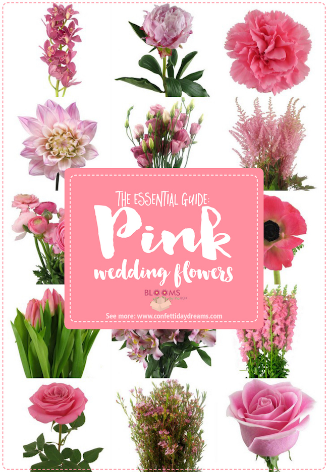 the essential pink wedding flowers guide types of pink flowers, Natural flower