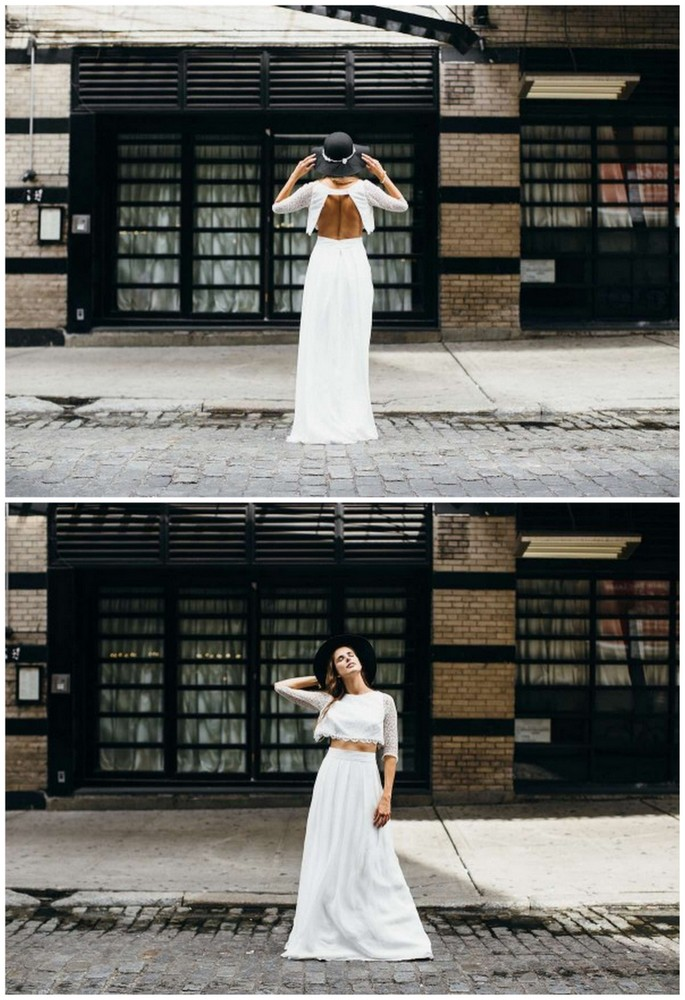 Wedding Dress Separates