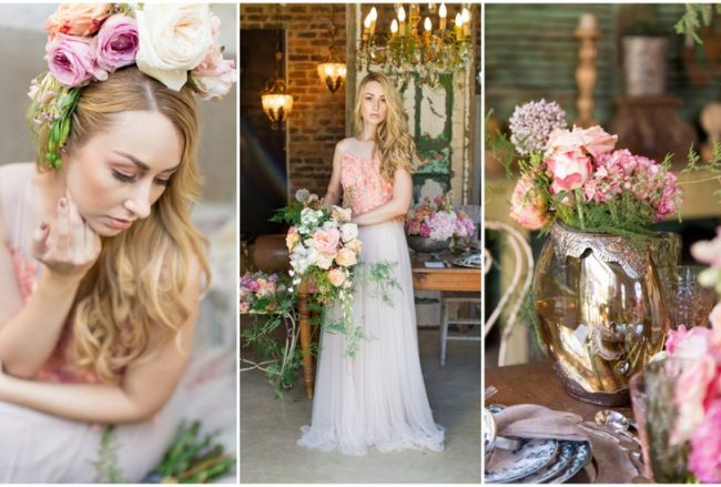 Decor + Details: Whimsical Coral Garden Wedding Elopement Ideas {Ian Odendaal}