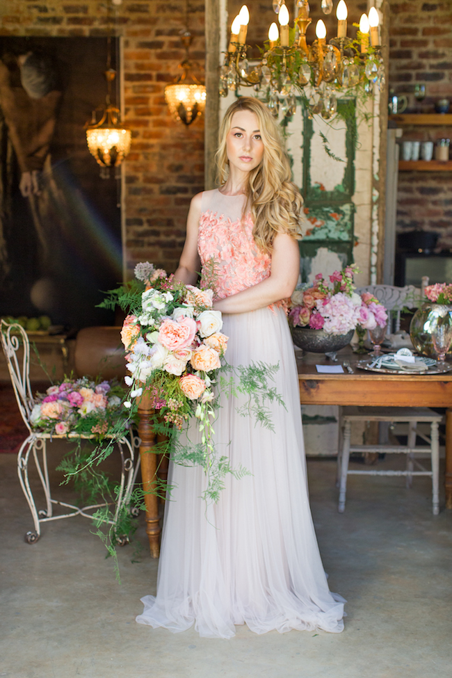 Whimsical Coral Garden Wedding Elopement Ideas