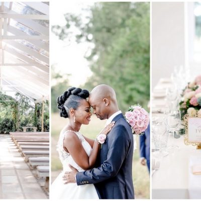 South African Sophistication: White Light Wedding in Gauteng {D'Amor Photography}