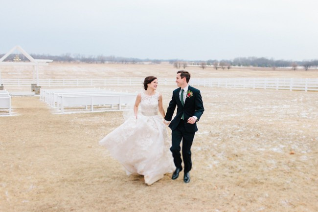 Pink + Lavender Winter Colorado Wedding - Sarah Libby
