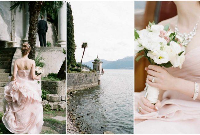 Elegant Lake Como Italy Elopement {Rochelle Cheever}