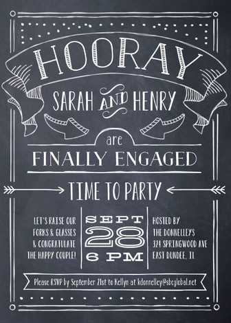 22 Engagement Party Invitations Youll Want to Say Yes to