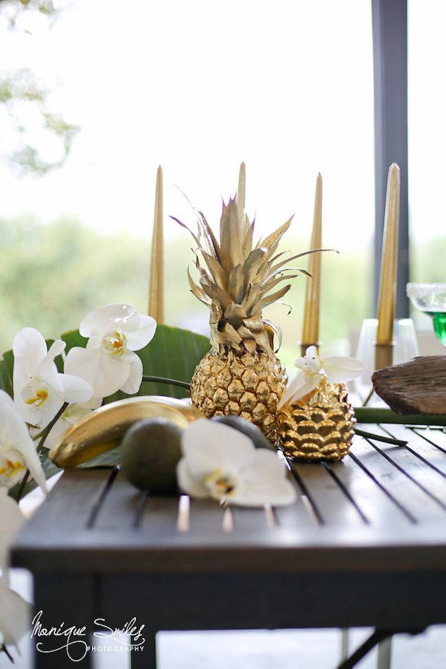 Modern Greenery And Gold Botanical Wedding Theme Ideas