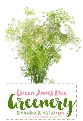 Greenery wedding flower names