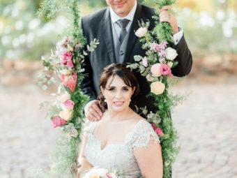 Jane Austen-Inspired Vintage Cape Town Wedding {Debbie Lourens Photography}