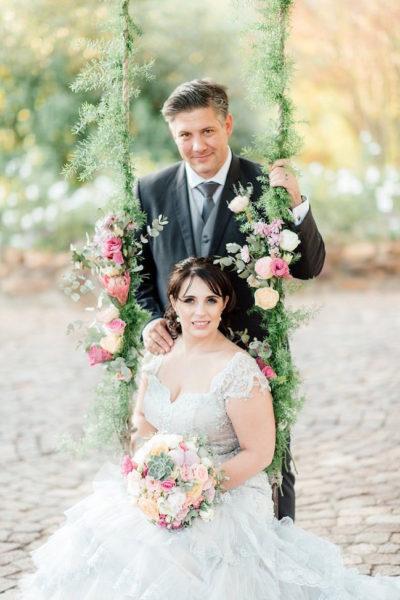 Jane Austen-Inspired Vintage Cape Town Wedding {Debbie Lourens Photography}